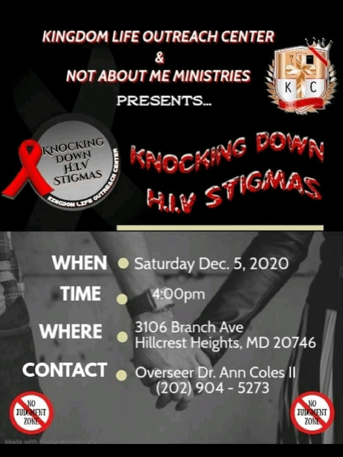 HIV Pastor Coles event flyer 12052020-1