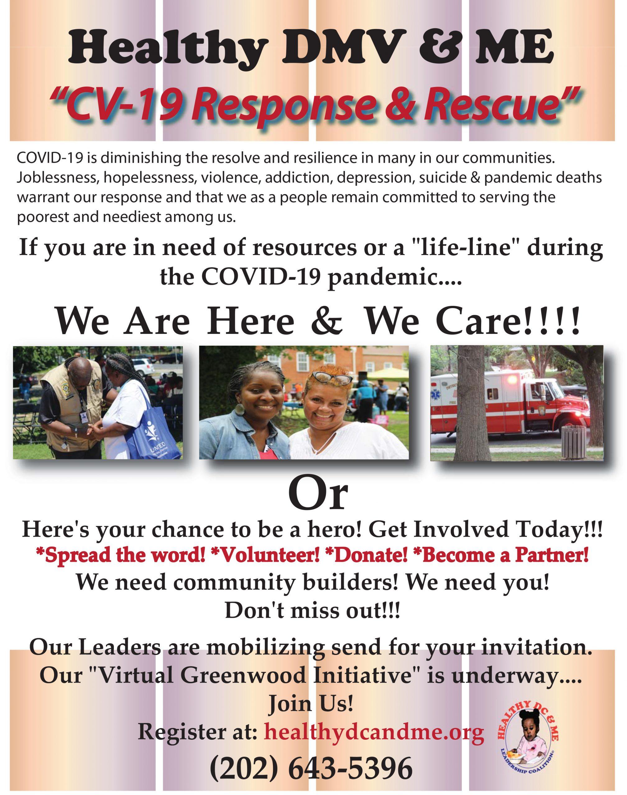 CV-19 Response & Rescue Flyer.ai