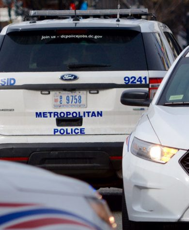 D.C. police cruisers are seen in this WTOP file photo. (WTOP/Dave Dildine)
